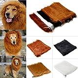 Hundekostüm Löwenmähne Perücke Löwe Kostüm für große Hunde Halloween Karneval
