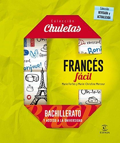 Francés Fácil Para Bachillerato - 9788467044584 (CHULETAS)
