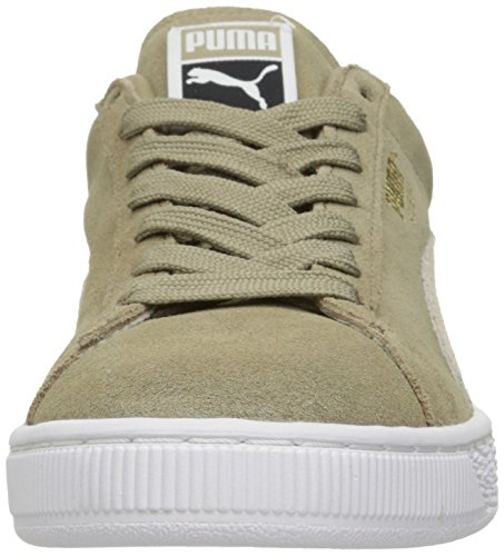 Puma Suede Classic+Water Wildleder Turnschuhe Chinchilla/Puma White