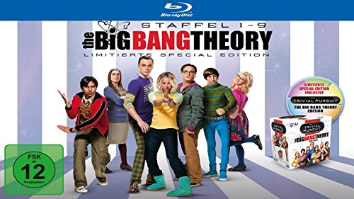 The Big Bang Theory - Staffeln 1-9 (Limited Edition inkl. Trivial Pursuit) [Blu-ray]