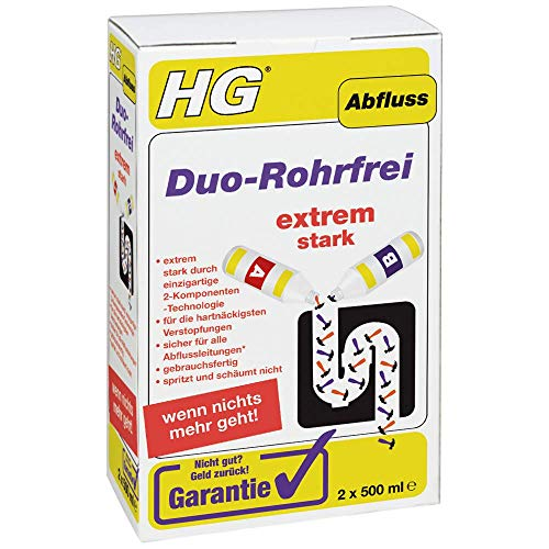 HG Duo-Rohrfrei, 2 x 500 ml