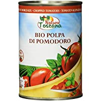 NATURA TOSCANA Tomaten Kleingehackt In Dose, 6er Pack (6 x 400 g)