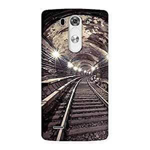 Premium Track in Tunnel Back Case Cover for LG G3 Beat