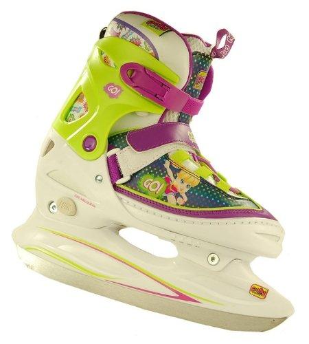 polly-pocket-schlittschuhe-fun-blade-patines-de-patinaje-sobre-hielo-color-verde-talla-34