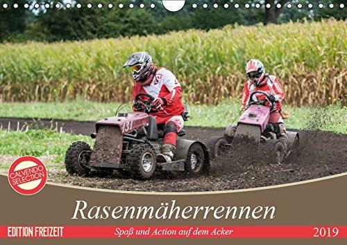Rasenmäherrennen - Spaß und Action auf dem Acker (Wandkalender 2019 DIN A4 quer)