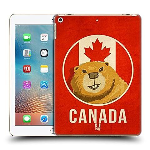 Head Case Designs Canada Animaux Patriotiques Étui Coque D'Arrière Rigide Pour Apple iPad Pro 2 9.7 (2017)