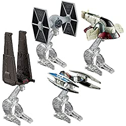 Hot Wheels Star Wars Villain Starship 4-Pack by Hot Wheels