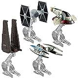 Hot Wheels Star Wars Villain Starship 4-Pack by Hot Wheels