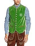 Fuchs Trachtenmoden Herren Trachtenweste, Grün (Grün), 54