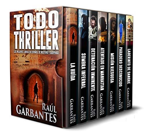 Todo Thriller: Los Mejores Libros En Español De Misterio Y Suspenso por Raúl Garbantes
