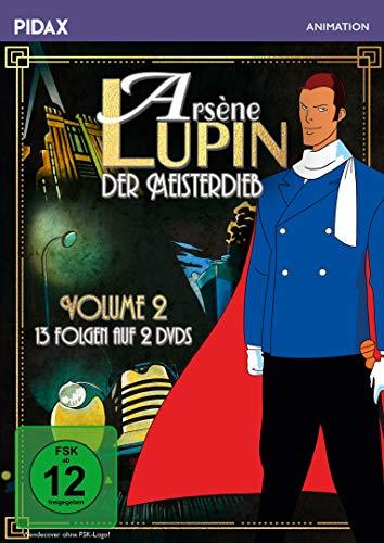 Arsène Lupin, der Meisterdieb, Vol. 2 / Weitere 13 Folgen der Erfolgsserie nach der Romanvorlage von Maurice Leblanc (Pidax Animation) [2 DVDs]