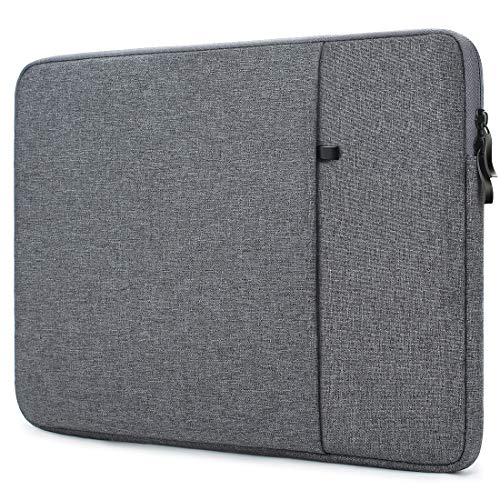 "NIDOO 13"" Laptop Sleeve Case Notebook-Hülle Klassische Tasche schützende für 13.5\"" Microsoft Surface Book 2/13.3\"" Dell Latitude 3390/13.3\"" ThinkPad X1 Tablet/ 14\"" HP EliteBook 1040 G5,Dunkelgrau"