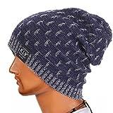 Cappello UoMo, KLV Cappello invernale lavorato a maglia in lana (Marina Militare)