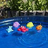 Playgro 40147 Spritztier-Set Unterwassertiere 5-teilig, mehrfarbig von Rotho Babydesign GmbH (VSS)