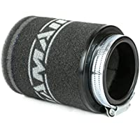 Ramair Filters MR-016 Filtro de aire para motocicleta, negro, 58 mm