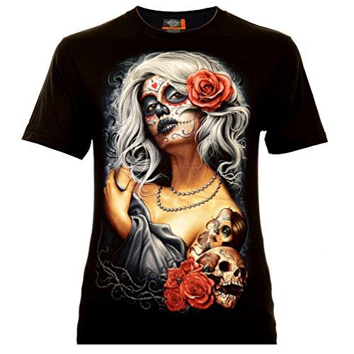 Santa Muerte with White Hair T-Shirt (M)