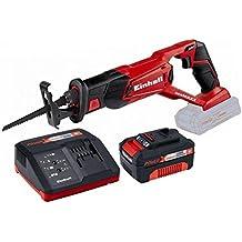 Einhell 4326308 - Sierra sable te-ap 18 li solo sin bateria + bateria de 3ah (4511341) + cargador rapido inteligente (4512011)