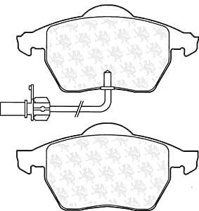 Quinton Hazell BP1309 Kit de patins de frein