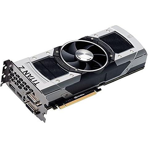 Inno3D NTZ-1DDN-O5LS NVIDIA GeForce GTX TITAN Z 12GB - Tarjeta gráfica (Activo, NVIDIA, GeForce GTX TITAN Z, GDDR5, PCI Express 3.0, 1.4a)