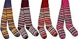 normani 2 x Schöne warme Kinder Thermo Strumpfhosen in verschiedenen Motiven für kalte Wintertage Thermostrumpfhose Farbe Mädchen Größe 110-116