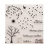 wiffe CLEAR STAMP Silikon Dichtung Cartoon Gebete DIY Scrapbooking Diary Album Foto S2