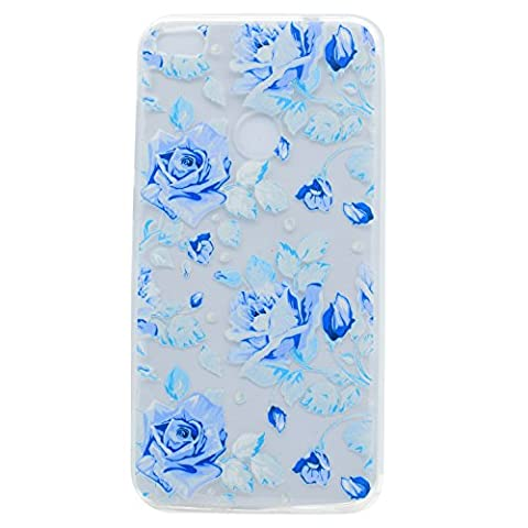 Lonchee Huawei Nova Case Cover, Color printing pattern Transparent Clear Soft TPU Bumper Back Cover Skin Protective Cover Cell Phone Case for Huawei Nova - Dream Rose