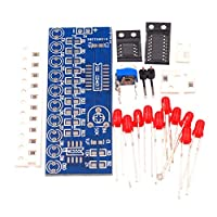 Gugutogo Water Light Kit NE555+CD4017 Water Light Electronic DIY Parts Electronic Production Water Light Kit Electronic Kit