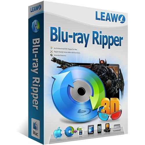 Leawo Blu-Ray Ripper MAC Vollversion (Product Keycard ohne Datenträger)