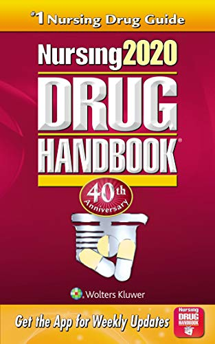 NURSING 2020 DRUG HANDBOOK 40ED (PB 2020)