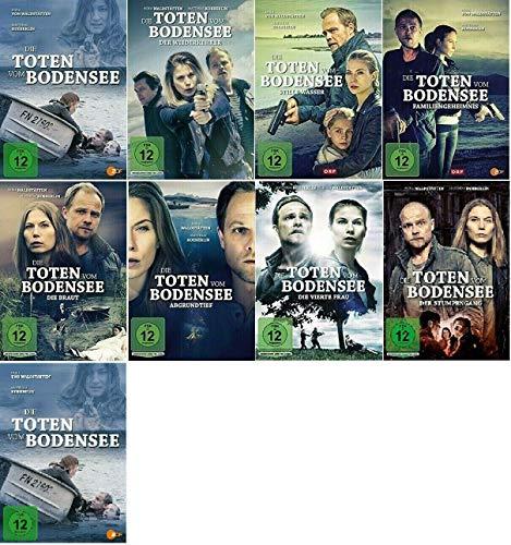 Die Toten vom Bodensee 1-9 / 9er Film Paket u.a. Die Meerjungfrau [DVD Set]