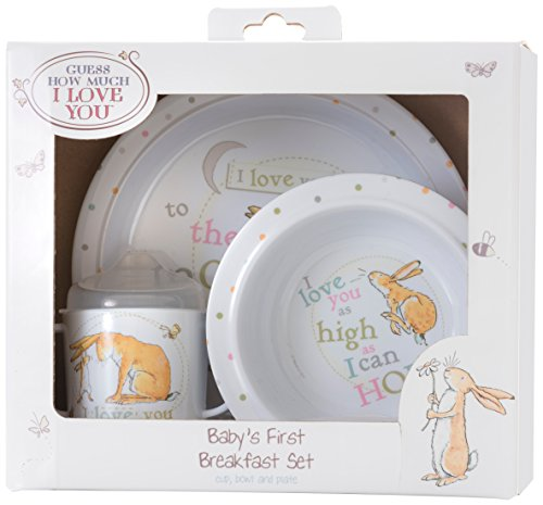 NO.1# LUXURY WATCH  GUESS HOW MUCH I LOVE YOU BREAKFAST SET, BY RAINBOW DESIGNS REVIEWS  BEST BUY UK