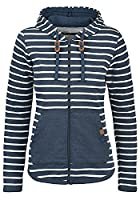 BLEND SHE Women's Hooded Jacket Zip , size:M;colour:Navy (70230)