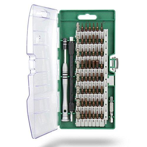 Preisvergleich Produktbild Mishen 60in 1vielseitig Schraubendreher-Set für PDA, PC, Notebook, Tablet, Handy, Brillen, Uhren, Kameras, elektronisches Spielzeug, und andere Geräte