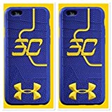 Stephen Curry Under Armour Shoe Sole Case Cover for Apple Iphone 6/6S (Apple iPhone 6/6S, Blue)