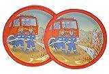 Unbekannt 6 tlg. Set Pappteller Feuerwehr Auto Teller Essen Kinder Kinderparty Jungen Autos Feuer Fahrzeug rot