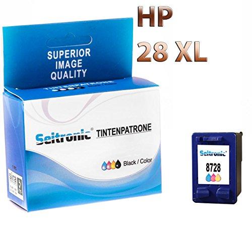 Preisvergleich Produktbild 1x Drucker Patrone Seitronic für HP 28 XL FARBIG DeskJet 3425 3450 3520 3535