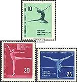 Prophila Collection DDR 830-832 (kompl.Ausg.) 1961 Kunstturn-Europapokal der Frauen (Briefmarken für Sammler) Sport Sonstige