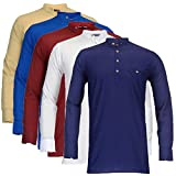 Feed Up Men's Kurtas Pack of 5