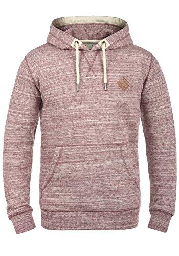 Solid Hoodie Sweatshirt (SOLID Kevin Herren Kapuzenpullover Hoodie Sweatshirt aus hochwertiger Baumwollmischung, Größe:XL, Farbe:Wine Red (0985))