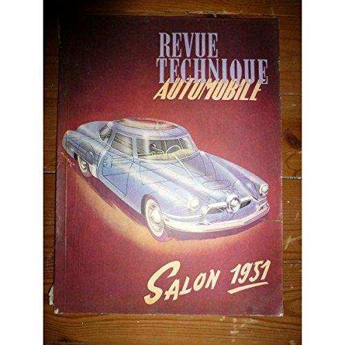 Rta-revue Techniques Automobiles - Salon 1951 Revue Technique