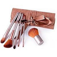 GUO Herramientas de belleza portátil de reparación de pintura capacidad de cepillo de maquillaje Set 6