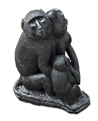 'Meraviglioso Shona Art scimmia babbuino scultura