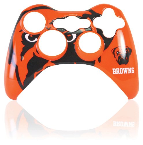 Xbox 360 Official NFL Cleveland Browns Controller Faceplate by Mad Catz