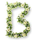 Basil Rosengirlande Flower Garland, White, One Size, 50270