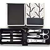Nail Clippers 8 Pcs Stainless Steel Set Grooming Kit,Photo