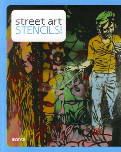 Street Art Stencils ! Bilingue anglais/espagnol. BAISSE DE PRIX !