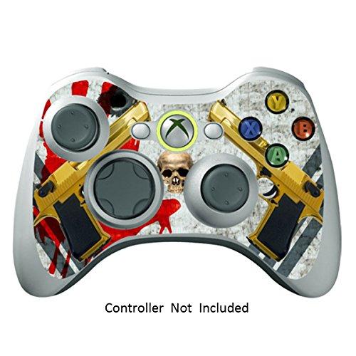 Xbox 360 Controller Designfolie Sticker - Vinyl Aufkleber Schutzfolie Skin für Xbox 360 Controller - Ghost Ops