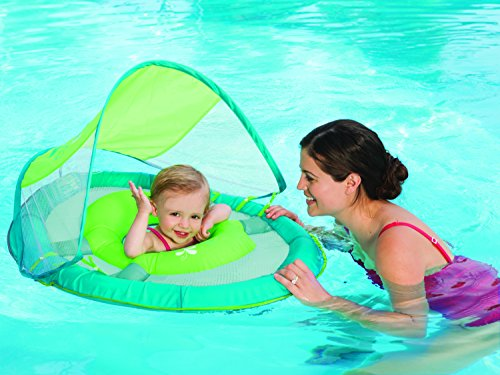 Swim Ways SwimWays Baby Spring Float Sun Canopy, Green