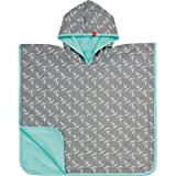 Lässig Splash & Fun Baby Beach Poncho/ Kinder Poncho / UV-Schutz 50+ boys, ship ahoy, Größe 12-36 Monate