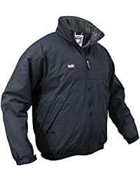 Slam Mens Winter Sailing Waterproof Fleece Lined Jacket